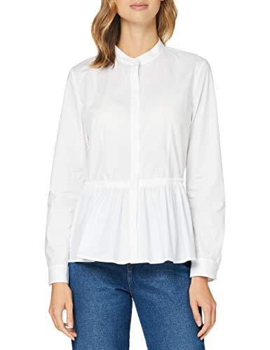 HUGO Damen Ebrina Bluse, White100, 36