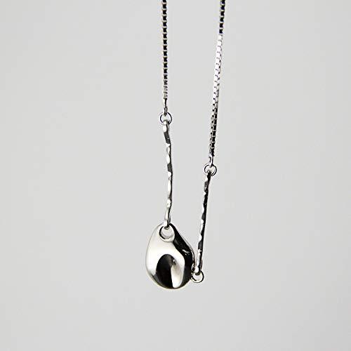 N\C Collares para Mujer -Collar De Cadena De Coliflor Plata De Ley 925 Oro Industria Collar Elegante para Mujeres Joyería De La Amistad Adecuado para Cualquier Lugar