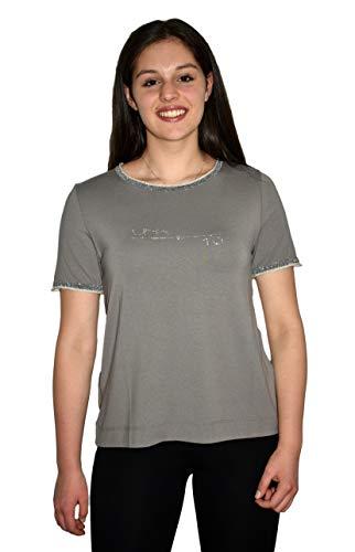 Lurex - Camiseta para mujer, cristales de Swarovski, fabricada en Italia TóRTOLA S