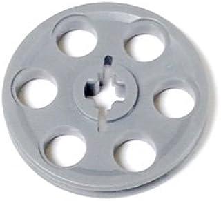 LEGOブロック・純正パーツ<テクニック>Wedge Belt Wheel (Pulley) [並行輸入品] (1個, Light Bluish Gray)