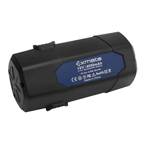Exmate 18V 4.0Ah Batterie pour Batterie Lithium-ION LUX-Tools A-KS-18Li / 25