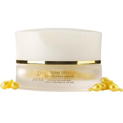 Jafra Royal Jelly, Concentrato alla pappa reale per la cura degli occhi con attivatori di sirtuina per la cura degli occhi, 60 capsule