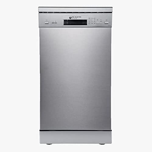 EAS ELECTRIC SMART TECHNOLOGY | Lavavajillas 45 cm | EMD09X2-V1 | E/A++ | 9 servicios - cubiertos | Inox | 4 Programas | Bajo consumo 70 kWh/ciclo
