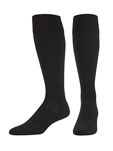 Elite Finale Soccer Socks (Black, Large)