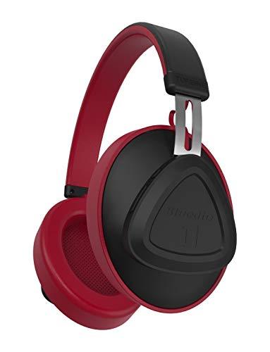 Cuffie On-Ear Bluedio TM Bluetooth 5.0 Controllo vocale Cuffie stereo senza fili per musica e chiamata, microfono incorporato (TM_rosso)