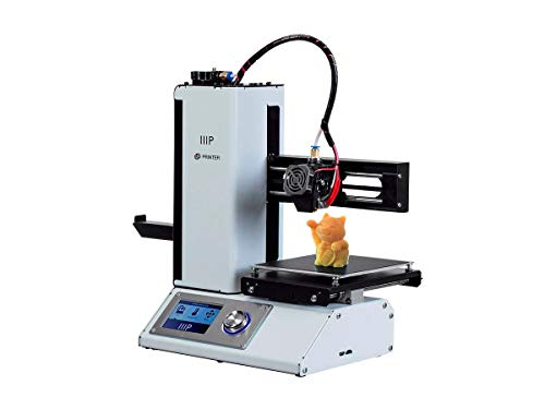 Monoprice Select Mini 3D Printer v2 - White With Heated (120 x 120 x 120 mm) Build Plate, Fully...