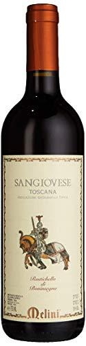 Melini Sangiovese Toscana Rustichello di Boninsegna IGT Rotwein trocken (1 x 0.75 l)