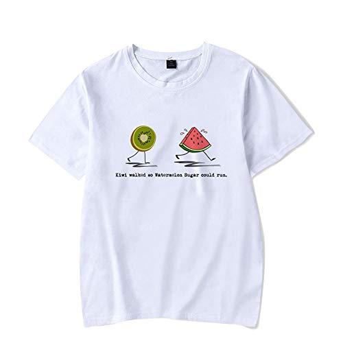 Harry Styles' New Album Fine Line Kurzarm T-Shirts für Männer und Frauen White 3 S