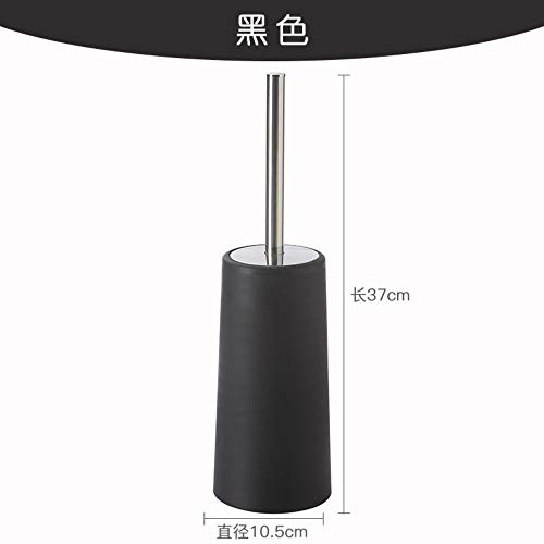Ruixinshi T301 Portable en Acier Inoxydable Brosse WC en Plastique de Type Durable Brosse WC Salle de Bains Accessoires Coffrets porteurs, Bleu