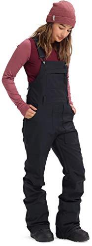 Burton Womens Avalon Bib Pant, True Black New, Large