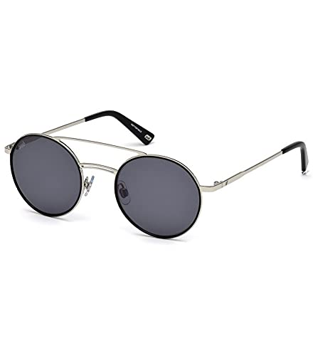 WEB WE0233 16A 50 Monturas de gafas, Plateado (Palladio LucFumo), 50.0 Unisex Adulto