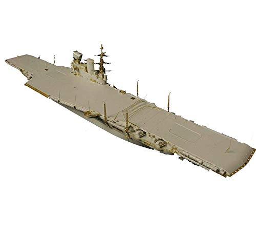 Jzx-n Militari de la Girl Kit, 1/700 Escalera Militar HMS Victorious R38 Rompecabezas Juguetes Adultos y Coleccionismo
