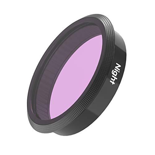 Shiwaki Tauchfilter UV/CPL/ND8/ND16/ND32/ND64 Unterwasserfilter Lensfilter für DJI OSMO Action, Tauchen und Schnorchel Zubehör - Night