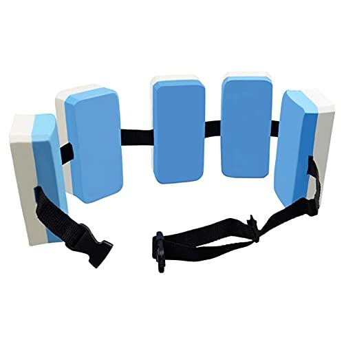Verstellbarer Schwimmgürtel Schwimmgürtel für Kinder Gürtel für Wassergymnastik Wassersport Schwimmlernhilfe mit Fünf Auftriebskörpern Schaum und verstellbarem Nylongurt für Kinder Erwachsene