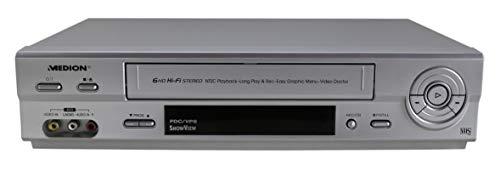 Medion MD 42277 VHS Videorecorder in Silber