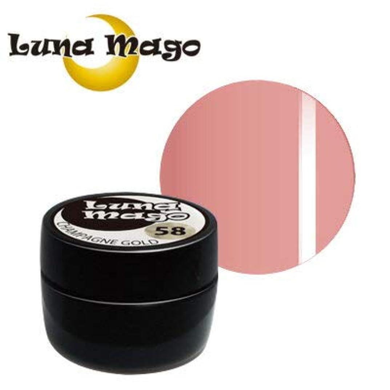 時代遅れピケタイプライターLuna Mago カラージェル 5g 022 ネオピンク