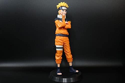 Naruto Group Versión Vertical de la Infancia de Naruto Puede Cambiar la Bolsa de Mancha de Cara Anime Model Decoration 25 cm-Puede Cambiar la Bolsa de Cara