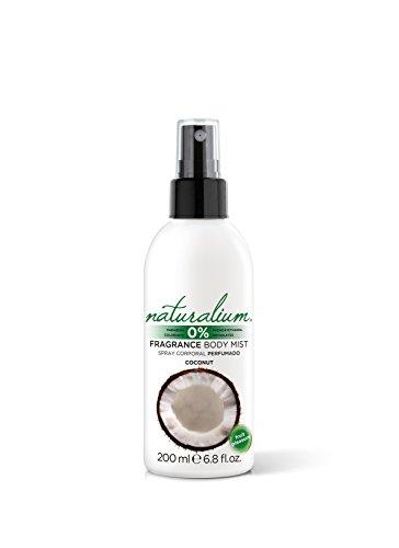 Naturalium Spray Corporal Coco - Body Mist Perfumado Refrescante, Sin Parabenos, Sin Colorantes, 200 ml
