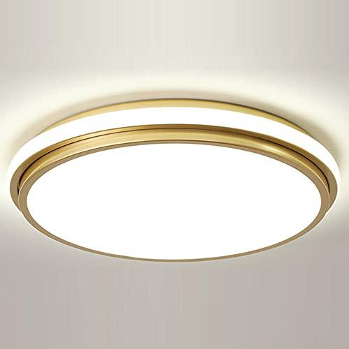 JXINGZI Lámpara De Techo LED Nórdica Diseño De Emisión Lateral Iluminación De Techo Luz De Tres Colores Ajustable Accesorio De Iluminación Redondo Moderno Plano Dormitorio, Sala De Estar, Oficina