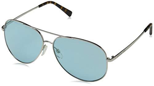Michael Kors 0MK5016 Gafas de sol, Shiny Silver/Tone, 60 Unisex