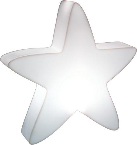 LUMENIO LED Stern beleuchteter Weihnachtsstern multicolor 15 verschiedene Farben (Maxi)