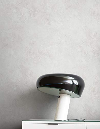 NEWROOM Tapete Grau Vliestapete Beton - Betonoptik Modern Putzoptik Struktur Uni Industrial Einfarbig Schlicht inkl. Tapezier-Ratgeber