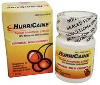HURRICAINE TOPICAL ANESTHETIC LIQUID 20% 1OZ JAR CHERRY