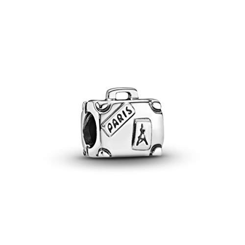 Pandora Damen Moments Abenteuer-Koffer Charm Sterling Silber 790362