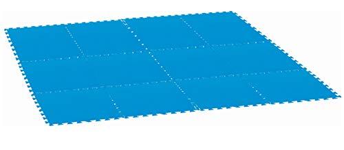 Dynamic24 9X Bodenschutzmatte 2,25 qm Poolmatte Pool Unterlage Bodenmatte Spielmatte