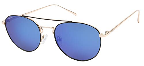 Gafas de sol Toledo unisex, polarizadas, negro/dorado (ptol77/C)