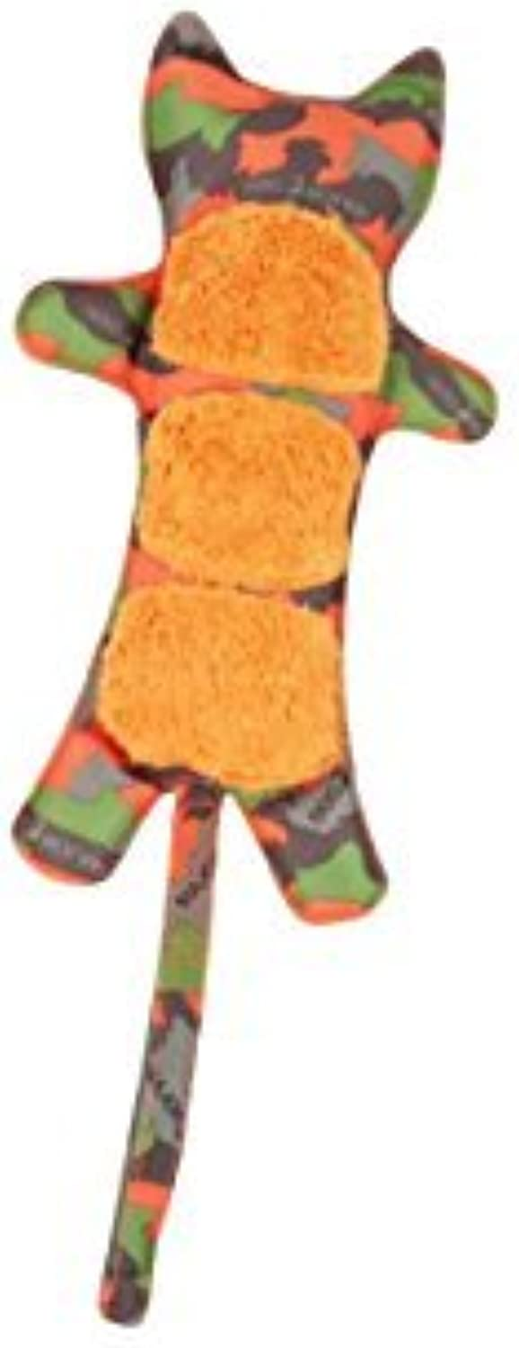 MAJOR DOG Tiger Toy, 11, Camo Green orange by MAJORDOG
