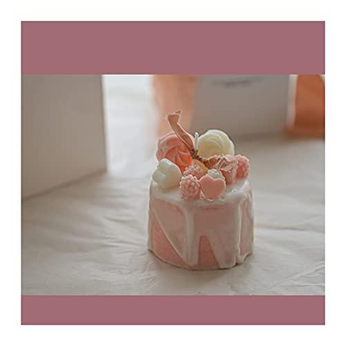 rongshengxinye Vela de aromaterapia para boda, día de San Valentín, caja de regalo para dormitorio, aromaterapia, vela (color A: A)