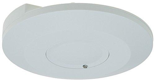 HF Radar Decken-Bewegungsmelder 360° I Aufbau 24mm I 5,8Mhz Hochfrequenz I Präsenzmelder I LED geeignet I bis 8m Detektion I Zeit Reichweite regelbar