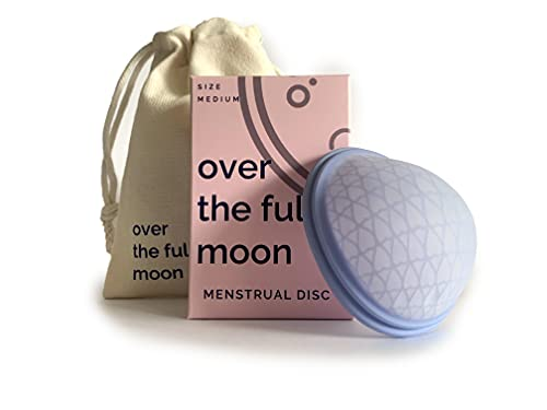 over the full moon Menstrual Dione Disc | disco menstrual tampones toallas sanitarias higiene íntima femenina | period cup tampons sanitary pads personal female intimate hygiene products!