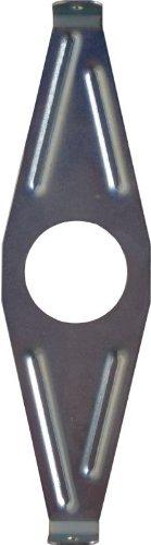 Original DEKAFORM Befestigung- Halterung Steckbrille ST-180 für Fahrrad Kettenschutz nachträglich montieren, nachrüsten bis 38 Zähne Kettenblatt bei BSA Tretlager* 180 mm verzinkt