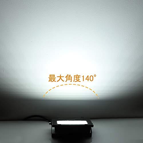 【最新改良版】LED投光器30w作業灯高輝度昼光色6000Kフラッドライト看板照明集魚灯駐車場灯庭園ナイター船舶防水加工防犯防災照明器具船舶屋外作業