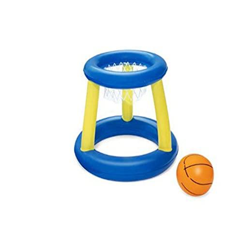 Piscina Juguetes Inflables Anillos de Natación de Agua Baloncesto Niños Flotante Anillo de Arro Juego de Lanzar Piscina Juguete Niños Deporte