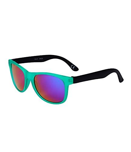 SIX Sonnenbrille für Kinder mit Farbverlauf, Linsen-Kategorie 3, UV-Schutz gemäß DIN EN ISO 12312-1:2015 (630-015)