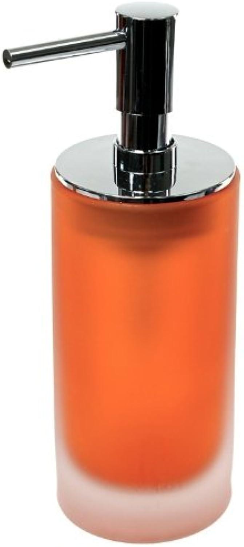 Gedy by Nameeks TI81-67 Gedy Tiglio Collection Tall Soap Dispenser, 1.5  L x 3.12  W, bluee 2.34  x 3.12  x 6.67  orange