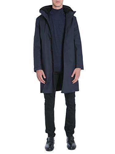 Mackintosh Luxury Fashion Herren GR007DBIDJ05 Blau Mantel | Jahreszeit Outlet