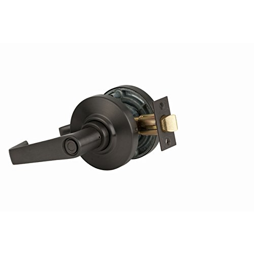 Schlage Commercial AL40SAT613 AL Series Grade 2 Cylindrical Lock, Privacy Function, Saturn Lever Design, Oil Rubbed Bronze Finish