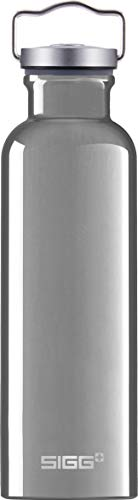 SIGG Original Alu Trinkflasche (0.75 L), schadstofffreie und besonders auslaufsichere Trinkflasche, federleichte Trinkflasche aus Aluminium