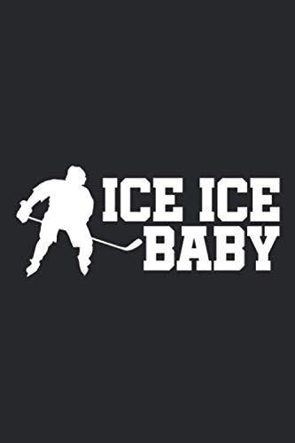 Ice Hockey: A5 Liniertes Notizbuch auf 120 Seiten - Hockey Notizheft | Geschenkidee für Hockeyspieler, Vereine und Mannschaften