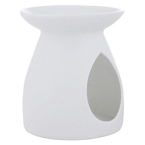 YANKEE CANDLE 1521526 Pastel Hue Bruciatore per Tart, Ceramica, Bianco, 11.4x11.1x12.9 cm