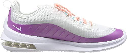 Nike Damen Air Max Axis Laufschuh, Weiß White White Hyper Violet Bleached Coral Lt Aqua 104, 42 1/2 EU