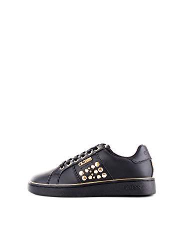 Guess Scarpe Donna Sneaker Bassa MOD. PICA Ecopelle col. Nero D20GU20