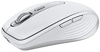 Logitech MX Anywhere 3 for Mac Compact Performance Mouse,Wireless, Comfortable, Ultrafast Scrolling, Any Surface,...