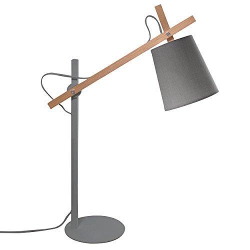 Rendez vous déco - Lampe de bureau Oslo grise