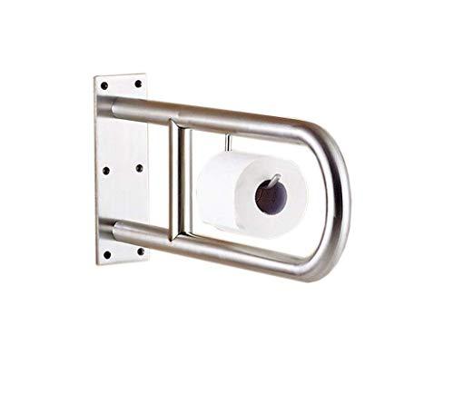 Handläufe GX Wandhaltegriff Secura, 304 Edelstahl U-förmige Toilette Armlehne Behinderte ältere Toilette WC-Griff Toilettenpapierhalter