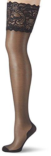 GLAMORY Couture 20 halterlose Naht-Strümpfe-schwarz-40-42